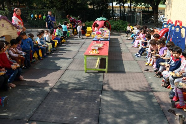 برگزاری روز جهانی غذا در مهد کودک پیام