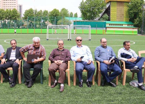 گزارش تصویری مسابقه پرهیجان فوتبال حبابی