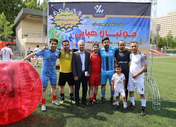 برگزاری اولین دوره مسابقات فوتبال حبابی
