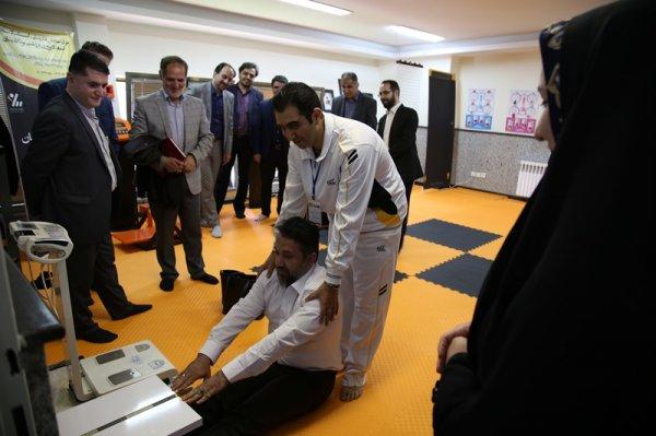 گزارش تصویری آغاز طرح سنجش تندرستی کارکنان سازمان فضایی ایران