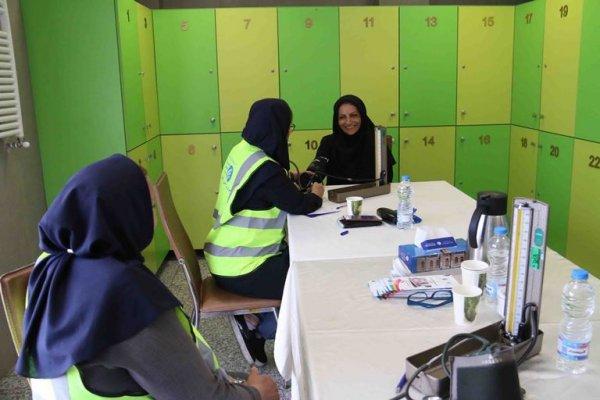 حضور کارکنان پیام در بسیج ملی کنترل فشار خون