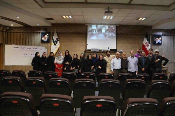 گزارش تصویری برگزاری دوره آموزشی امداد و کمک های اولیه برای کارکنان موسسه پیام