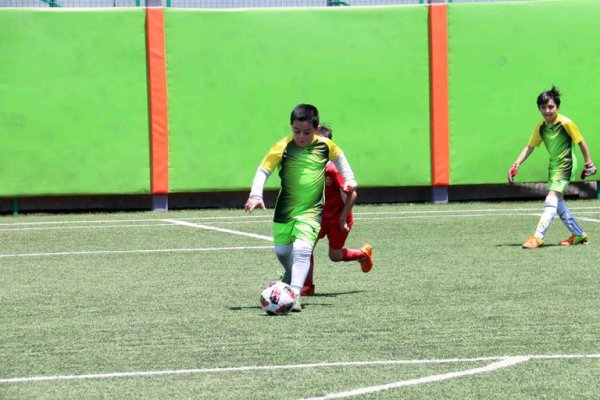 گزارش تصویری دومین سال متوالی میزبانی پیام از فستیوال مدارس فوتبال استان تهران