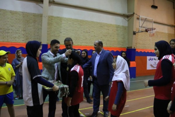برگزاری اختتامیه کلاس های تابستانی بسکتبال دختران
