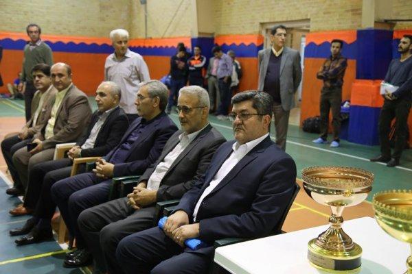 گزارش تصویری اختتامیه اولین دوره مسابقات والیبال جام شهدا