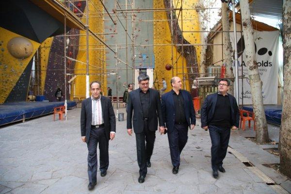 گزارش تصویری بازدید رئیس ورزش و جوانان شمال شرق استان تهران از موسسه پیام
