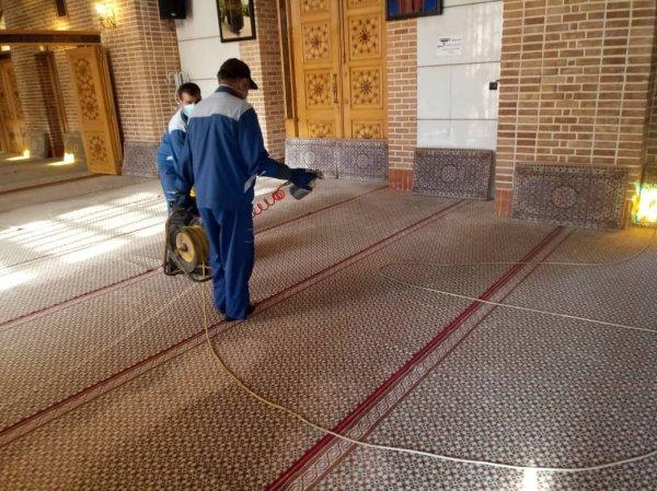 گزارش تصویری بازسازی ، تعمیرات و ضدعفونی کلیه اماکن موسسه پیام