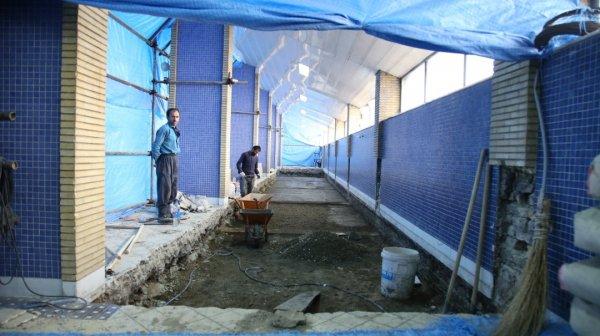 گزارش تصویری فعالیت عمرانی موسسه پیام در تعطیلات نوروزی