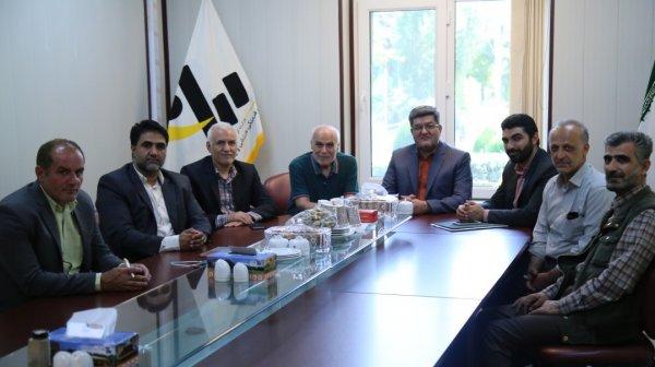 مراسم اعطا درجه دان ۷ فدراسیون کاراته ایران به میزبانی موسسه پیام