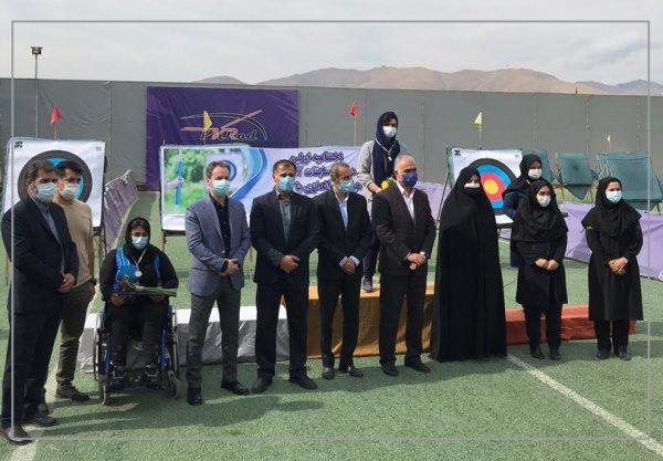 کماندار پیام قهرمان اولین دوره رقابت های آنلاین تیراندازی باشگاه های استان تهران