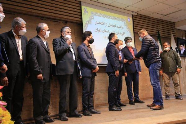 گزارش تصویری تجلیل از افتخارآفرینان تنیس استان تهران به میزبانی موسسه پیام